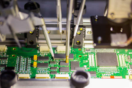 automatic system machine for manufacturing printed circuit board
