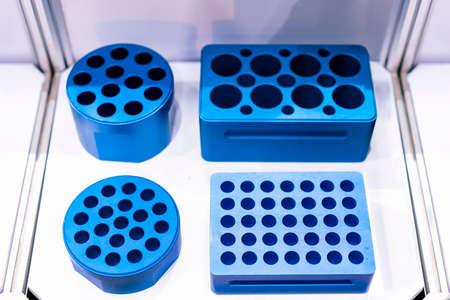 sampling tray or rack holder for test tube of shaking or vortex mixing machine lab equipment application for industrial chemical medical pharmaceutical food & beverage petroleum etc.