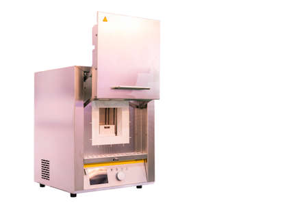 Automatic temperature control chamber or muffle furnace for coating drying hardening ageing annealing brazing calcination degassing sintering soldering sublimation tempering isolated clipping path