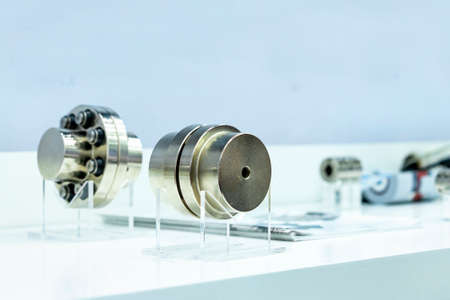 precision and easy metal backlash free connector quick coupling for motor connect with flexible shaft reduce vibration and smooth performance on table for industrial