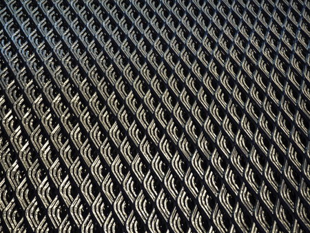 metal grate: Abstract lines and industrial metal mesh pattern background , texture