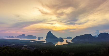 Phet Nga Samed Viewpoint, Phang Nga Islands Phang Nga Province, Thailand