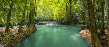 Thanbok Kratong Waterfall Than Bok Khorani National Park Krabi Province of Thailand