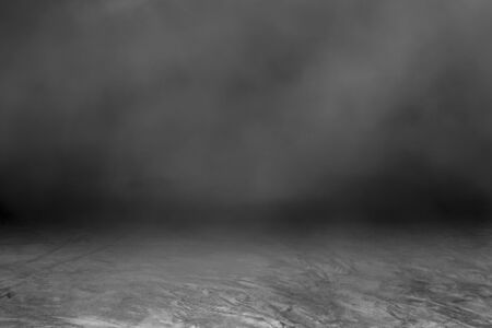 Dark concrete surface, beautiful mist, is an art to decorate the rough surface (Can write text)