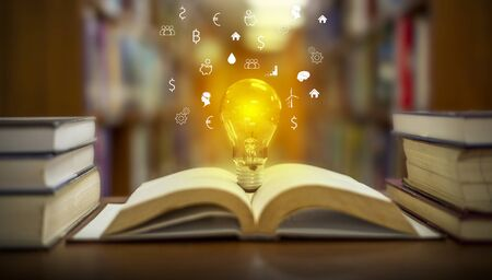 Books for Success in Business, Finance and Business Фото со стока