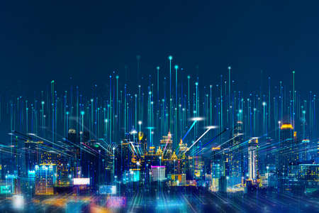 Intelligent city networks and communication in the age of AI (wireless communication on the world)