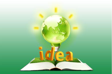 Ecology idea concept. Stock Photo