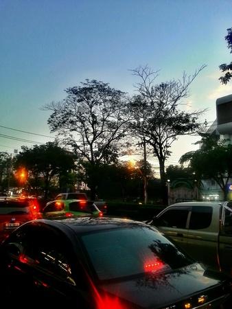 city traffic: Traffic in city