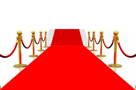 Red carpet Stock Photo - 2215586