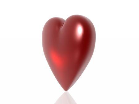 hots: Valentine heart  Stock Photo
