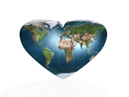 universal love: amor en el planeta Tierra  Foto de archivo