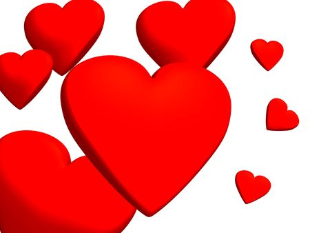 hots: Heart in which lives love  Stock Photo