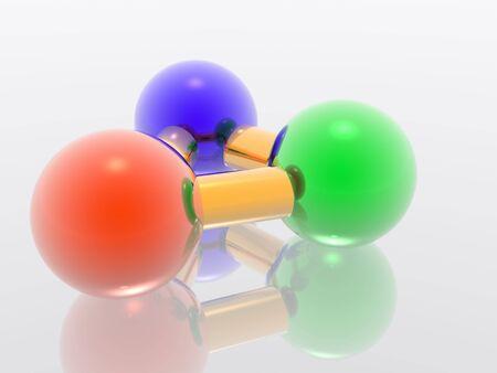 Render molecule photo