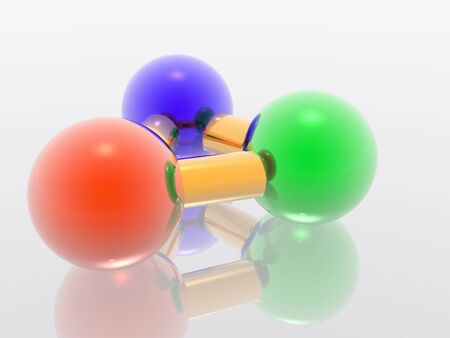 nodal: Render molecule