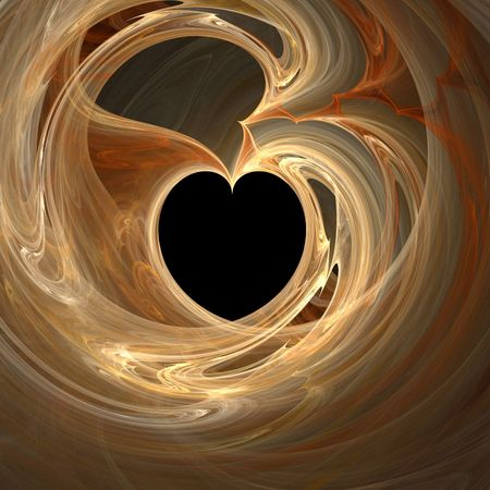 abstract heart (see more in my portfolio) photo