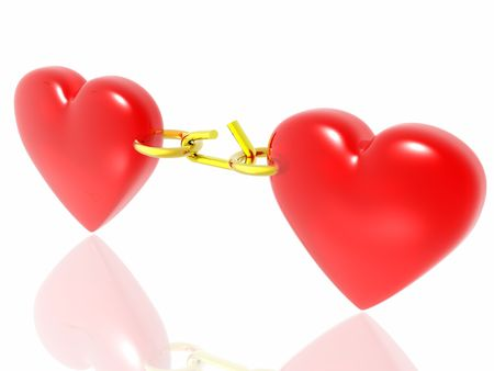 hots: heart which can get lost (see more in my portfolio) Stock Photo