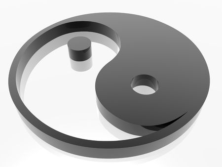 endless energy symbol (see more in my portfolio) photo