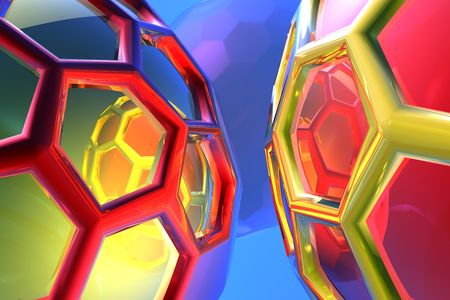 tehnology: abstract cell tehnology Stock Photo