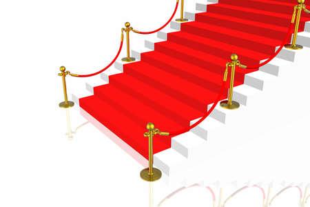 Red carpet Stock Photo - 2995579