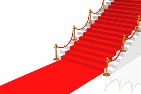 Red carpet Stock Photo - 2995560