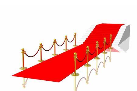 Red carpet Stock Photo - 2995563