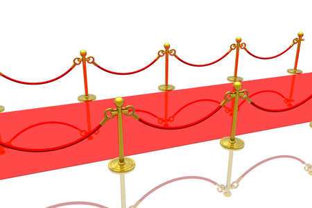 Red carpet Stock Photo - 2995588