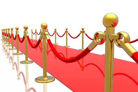 Red carpet Stock Photo - 3068134