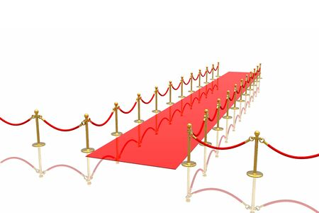 Red carpet Stock Photo - 3068213