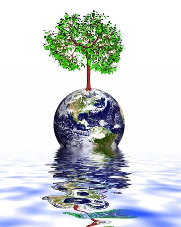 save the Earth Stock Photo - 3149674