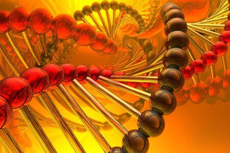 medicament: render of DNA