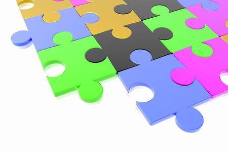 puzzle concept photo