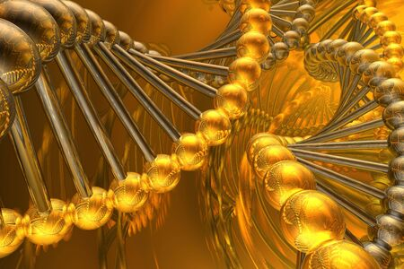 DNA spiral Stock Photo - 3296761