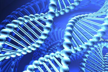 spirale dna: DNA a spirale Archivio Fotografico