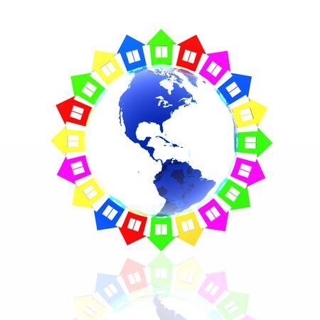 premises: world premises Stock Photo