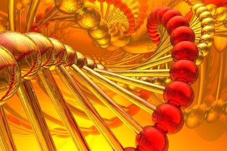 DNA structure Stock Photo - 3424101