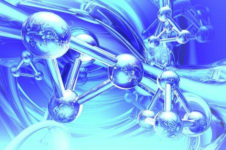molecular structure: Render of molecule