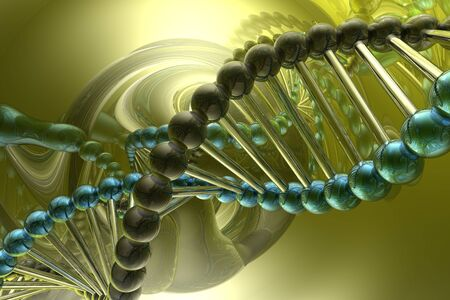 dna spiral Stock Photo - 3830269