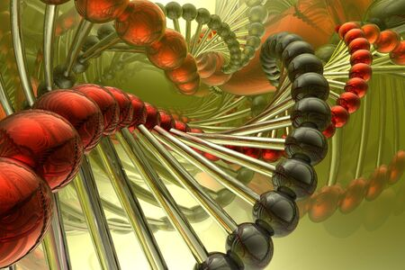render of DNA Stock Photo - 3885004