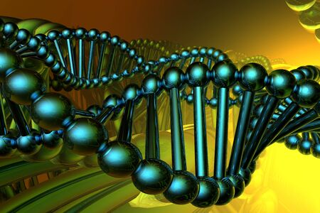 render of DNA Stock Photo - 3890243