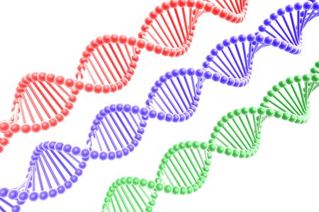 dna spirals Stock Photo - 3897292