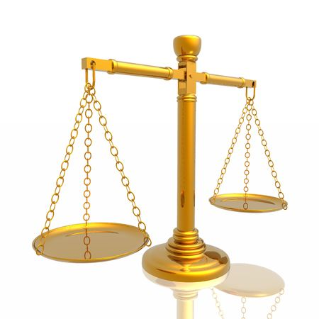 Justices scales Stock Photo - 3897362
