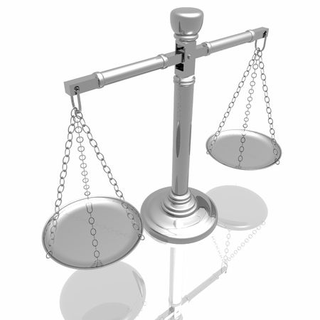 Justices scales Stock Photo - 3897404