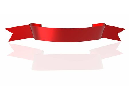 Red ribbon Stock Photo - 3950012