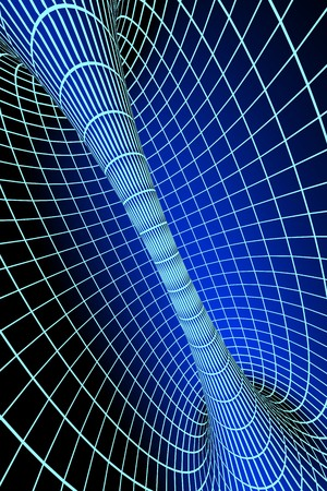 Digital 3d tunnel Stock Photo - 4034310