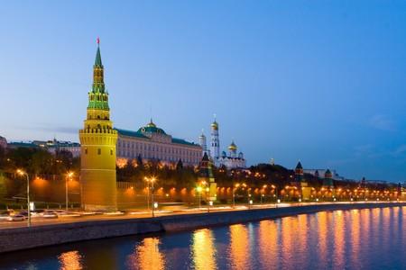 Night city, Moscow Stock Photo - 4210468