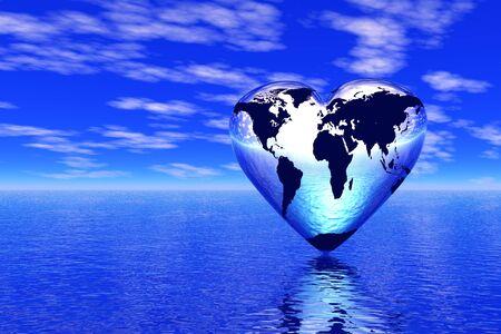 universal love: mundo en que vive el amor