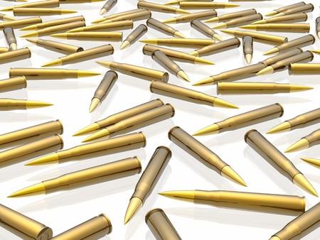 m16 ammo: Bullets Stock Photo