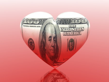 I love money  Stock Photo - 4398587
