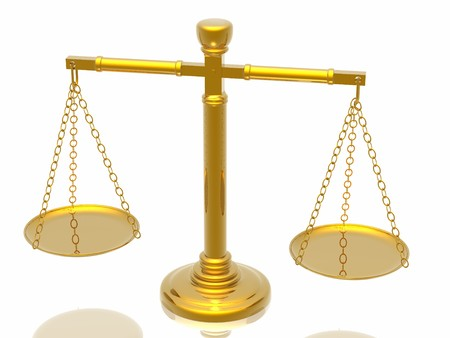 Justices scales Stock Photo - 4398520