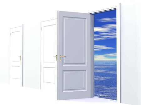 Doorway To Dreams Stock Photo - 4398576